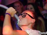 Cfnm party teens suck dicks