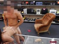Sexy college girl twat pounded on spycam