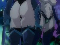 Anime warrior getting sperm inside