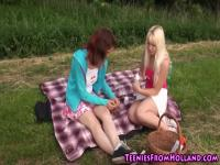 Teen Deiche lecker Picknick
