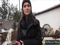 Heißen tschechische Mädchen Suzy Bell gefickt gegen Bargeld
