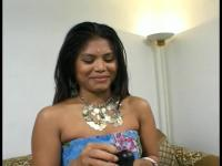 Indian beauty sucks cocks like a pro
