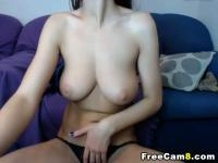 Perfect Huge Tits Babe