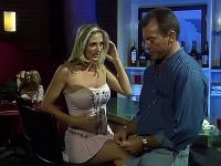 Busty porn-star gets her pussy pounded in jail