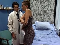 Topanga gets fucked by horny doctor