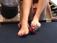 Horny brunette sucks a hard thick cock on pool table