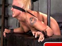 BDSM fucked hard in the hole