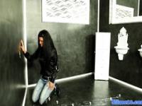 WAM gloryhole babe from europe in solo scene