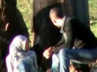 Hijab Arab Sex Outdoors-ASW1144