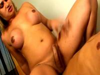 Tranny with big ass gets banged