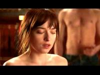 Dakota Johnson in ihrem Sex-Szenen aus fünfzig Shades of Grey