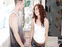 Redhead teen bitch Alice Green banged