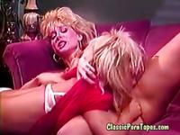 Hairy Late 1980s classic lesbian porn