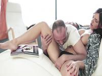 Horny babes Cecilia is waiting for a deep hardcore thrust from her hunk boyfriend