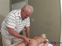 Madision Getting Massed And Fingered By Older Man Is Making Her Wet