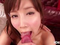 Horny Minami gives pleasure to the guy with her boob then they fuck hard