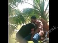 Arab Caught Sucking Outdoors-asw1014