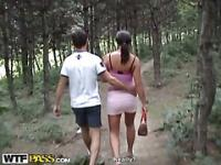 Hot girl public stripping on the pervs camera