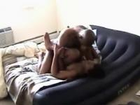 Sexy passionate raw sex from ebon couple