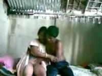 Juvenile indian couple fucking in a shack.avi