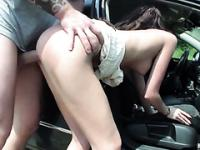 Fucked after hitching a ride from a friend