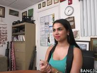 Pov latina teen slammed