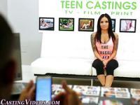 Teen strips 4 photoshoot