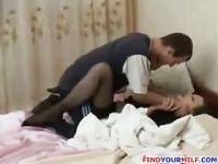 In Russland vol9 grobe hausgemachte Geschlecht gemacht