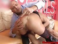 Cougar Cathy E does ass to mouth