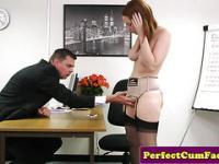 Candi Blows job interview