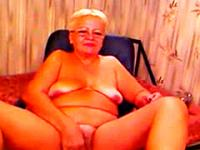 Grandma Shows Off Her Body