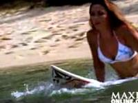 Badeanzug 2005 - Amy Cobb - Sexy Sport Girl Photosh
