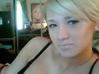 Blonde Teen Anal Webcam Play