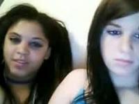Lesbian Threesome On Web Chat