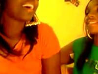Two Hot Black Lesbians Webcam Show
