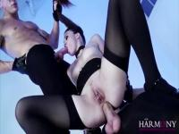 She loves the doggystyle with huge cumshot