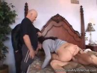 She never tried before fucking two guys