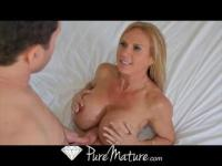 Brooke Tyler is a horny MILF that wants a young penis
