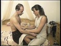 Amateur German couple will enjoy the wet fun at home