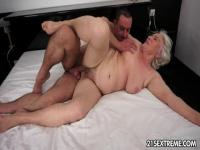 Norma is dirty granny that is still cock starved