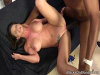 Teen babe in position of dirty hooker