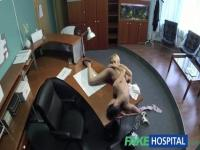Spy cum in live from the hospital