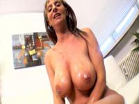 Mature Juliana with her huge tits POV