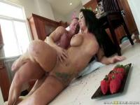 Jayden Jaymes was cooked in the kitchen