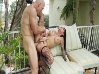 Busty Christy Mack anal fuck with Johnny Sins