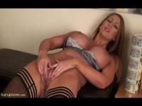 Hot wife stripping for her man