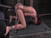 Cyd Black has a fucking machine for Skin Diamond