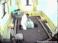 Indian sex caught on a CCTV footage.