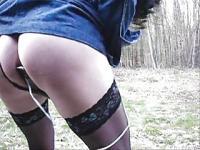 german transvestit im Wald2