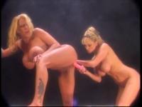 Classic plastic tit lesbian 3 - music only